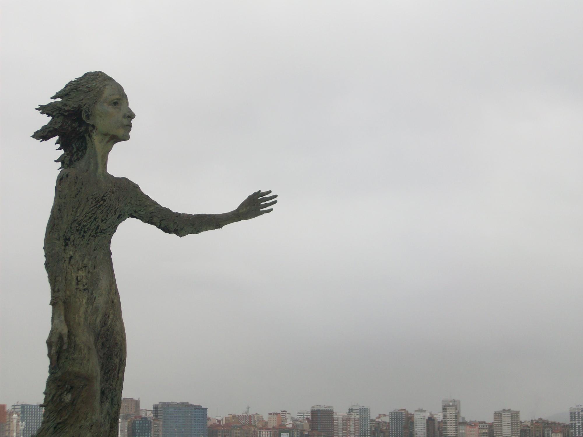 La madre del emigrante.