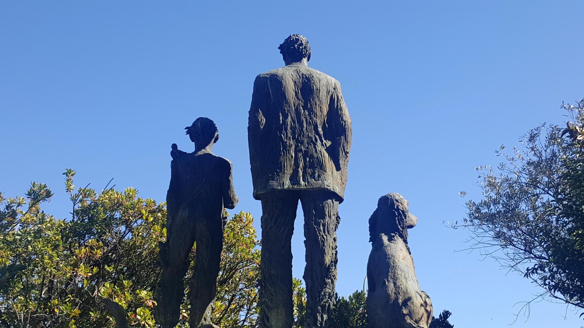 Conjunto escultórico para la sede del Boletín Oficial del Estado.