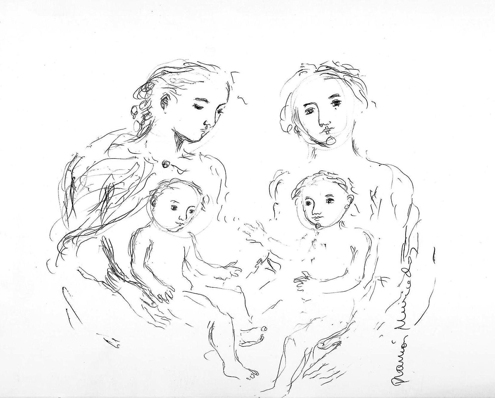 Dibujos Familias