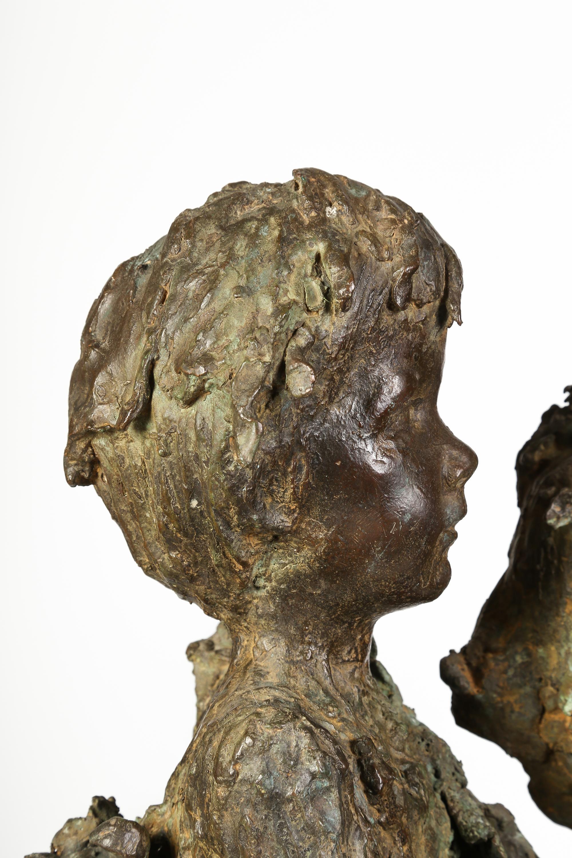 Bibiana y su hijo