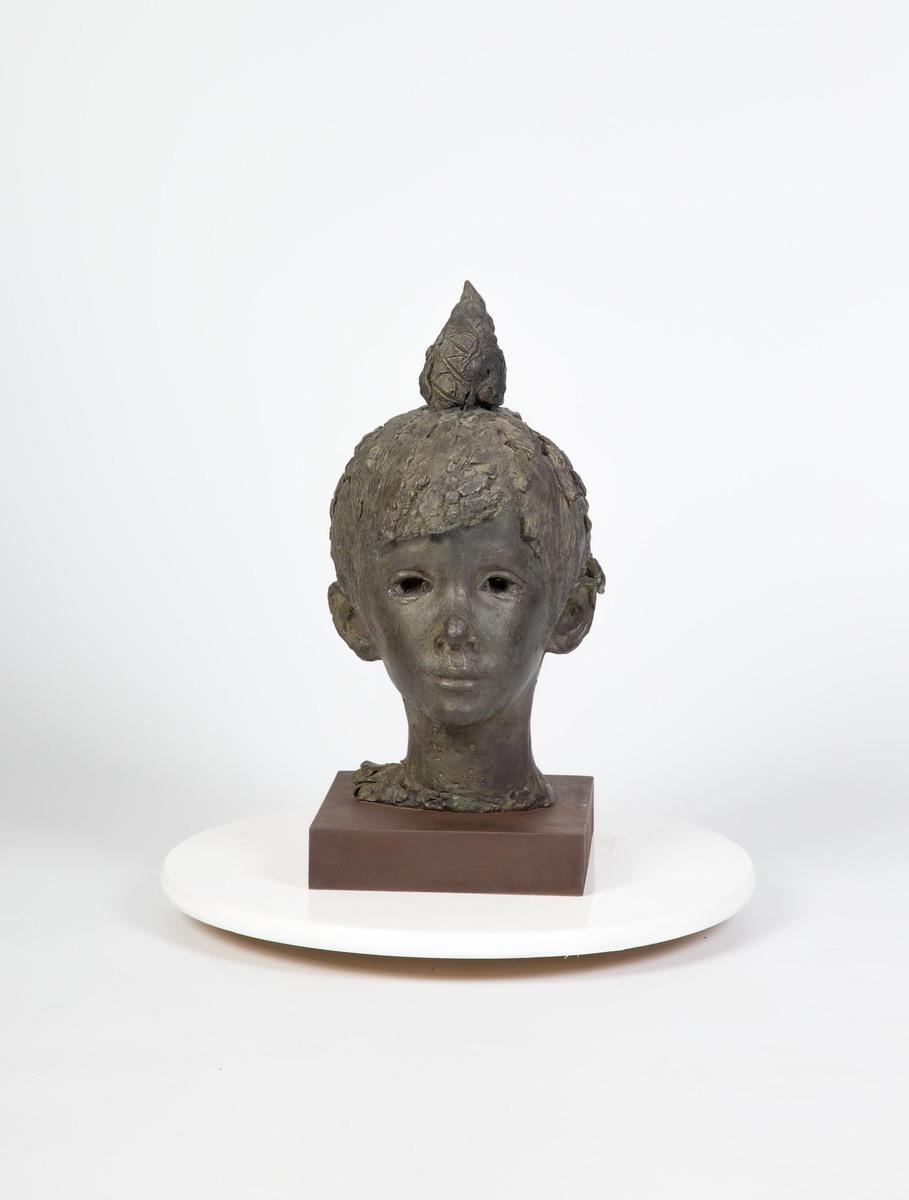 Retrato de David flambeado